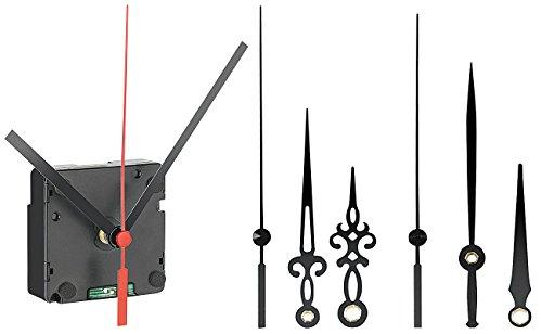 St. Leonhard Funkuhrwerk: Funk-Uhrwerk schleichend mit 3 Zeigersets für selbstgestaltete Uhren (Funkuhrwerk schleichende Sekunde)