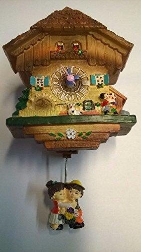Miniatur Kuckucksuhr Kinder Magnet Schwarzwald Uhr Geschenk Souvenir